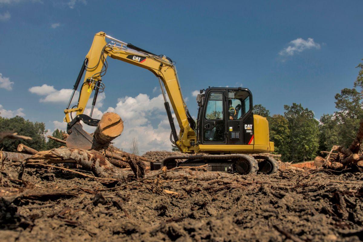 Cat 308e2 Mini Excavator Versatile Equipment Ltd