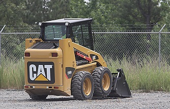 Wheeled Skidsteer Loaders Available from Cat and Bobcat for