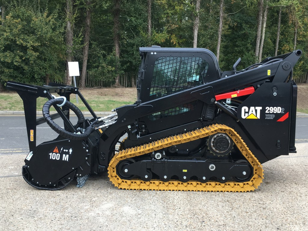 New Cat 299d2 Xhp With Mulcher Available For Hire